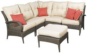 Amazon Prime Patio Chair Cushions by Amazon Com Mission Hills Laguna 6 Piece Patio Sectional Seating