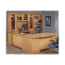 Realspace Broadstreet Contoured U Shaped Desk Dimensions by Mendocino U Shaped Bow Front Executive Desk Set Jerry U0027s Office