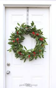 Indoor Wreaths Home Decorating Unique A Very Merry Fresh Holly