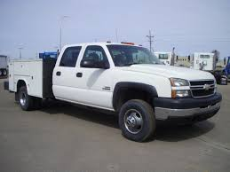 100 2007 Chevy Truck For Sale CHEVROLET SERVICE UTILITY TRUCK FOR SALE 11520