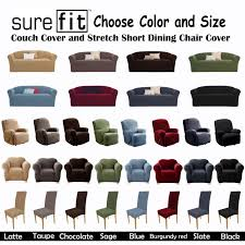 Furniture & Sofa Stunning Sure Fit Sofa Covers Design For