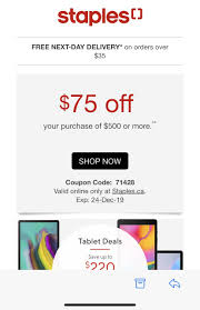 Staples] Staples $75 Coupon Code For $500 Or More YMMV ... Universal Conspiracy Evolved By Nandi 25 Off Staples Copy Print Coupons Promo Codes January Best Canvas Company 2019 100 Secret Shopper 500 Business Cards For Only 999 At Great Cculaire Actuel Septembre 01 Octobre How To Apply Canada Coupon Code Roma Ristorante Mill Richmondroma And Sculpteo Partner On 3d Services 5 Off Printable Coupon Exp 730 Alcom