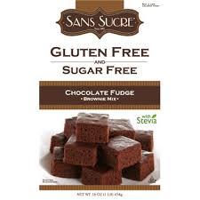 Sans Sucre Gluten Free Sugar Free Fudge Brownie Mix