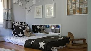 Lovely Kids Bed On Floor 45 With Additional Home Interior Decor