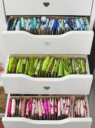 Craft And Sewing Room Storage Organization