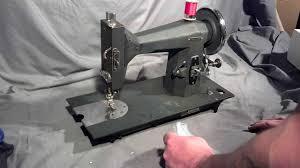 serviced rare vintage sears roebuck kenmore 117 231 treadle sewing