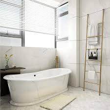 handtuchleiter schwarz bad handtuchständer freistehend