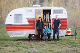 104 Restored Travel Trailers One Local Family S Perfect Getaway Vehicle Aspen Sojourner