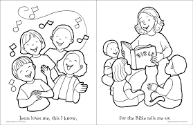 Downloads Online Coloring Page Jesus Loves Me 17 For Your Pages With