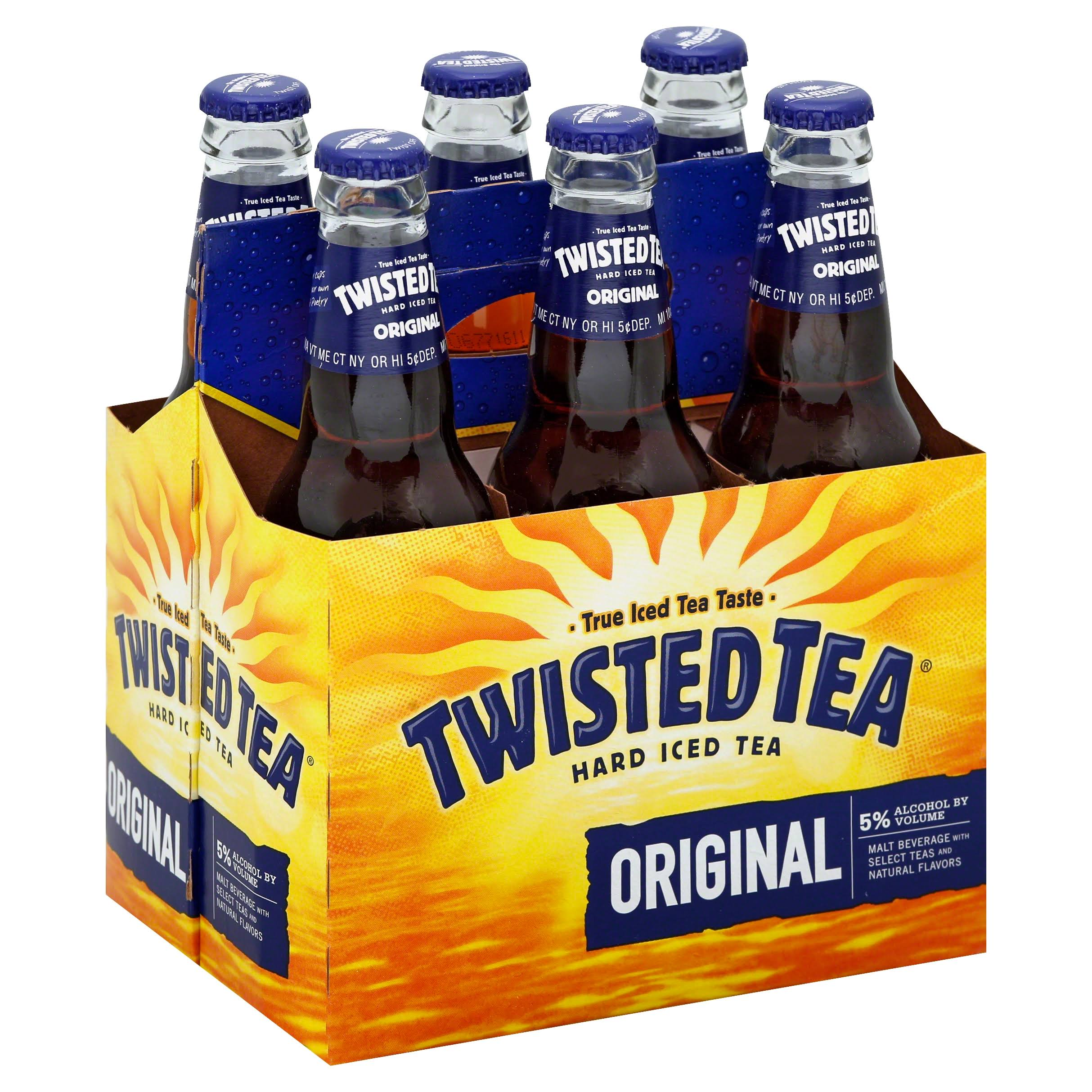 Twisted Tea Hard Iced Tea - Original, 6 Count