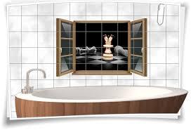 fliesen aufkleber fliesen bild fenster schach brettspiel strategie könig springer sport figuren bad wc aufkleber folie deko