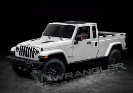 Here's Your First Glimpse Of The Two-Door Jeep Wrangler Pickup