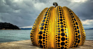 Yayoi Kusama Pumpkin Sculpture by Dotermination 2 Yayoi Kusama U0027s Polka Dot World Daily Dose Of Art