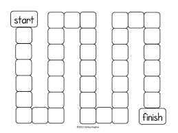 Blank Board Game Template Picture Newfangled Gallery Printable Templates With Medium Image