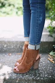 open toed booties from nordstromrack the closet