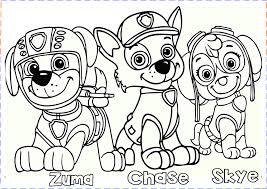 Coloring Pages Paw Patrol Unique Free Printable