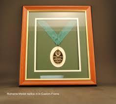 Custom Framed Medal POA