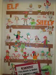 Classroom Christmas Door Decorating Contest Ideas by Our Class U0027 U201celf On A Shelf U201d Door Decorations Mr Ogren U0026 Mrs
