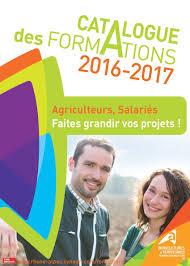 chambre agriculture rhone alpes calaméo catalogue des formations 2016 2017