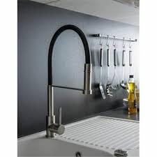 robinet noir cuisine robinet douchette extractible mitigeur pour evier de cuisine inox