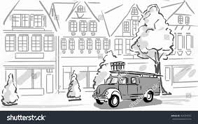 Fire Truck On Street Black White Stock Vector 769734976 - Shutterstock Fire Truck Lineweights Old Stock Vector Image Of Firetruck Automotive 49693312 Full Effect Design Fire Engine Truck Cartoon Stylized Drawing Vector Stock 3241286 Free Download Coloring Pages 99 In With Drawings Trucks How To Draw A Pickup Step 1 Cakepins Coloring Page Printable To Roy From Robocar Poli Printable Step By Pages Trucks Letloringpagescom Hand Of Not Real Type Royalty