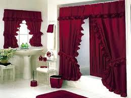 Leopard And Red Bathroom Decor by Splendid Bathroom Curtains Set Top Beautiful Designs Of Bathroom