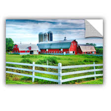 ArtApeelz Red Barn, White Fence By Steve Ainsworth Photographic ... Decor Redoubtable Magnificent Red Wall Pole Barn Blueprints And Rustic Set Of 4 Lisa Russo Fine Art Photography Amazoncom Vintage Paul Detlefsen Memories Farm Scene 42 X 856 Best Old Barns Images On Pinterest Country Folk Art Prints 11x14 Folk Print Page 1 Cherylbartleydesigns Flambeau T1003 With Black Roof Rural Doors Prints More Broken Wagon On An Create A Clip Hawaii Dermatology Clipart Best Or Canvas Home 25 Ideas Barns And Farms