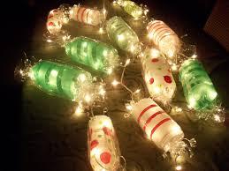 Gumdrop Christmas Tree Garland by Light Up Candy Garland Cut Ends Off Soda Bottles Paint Candy