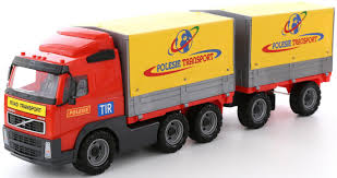 Tilt Truck With Trailer
