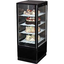 Black Cake And Sandwich Display Refrigerator Model BSF170B 95
