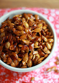 Roasted Shelled Pumpkin Seeds by Honey Roasted Pumpkin Seeds The Clever Carrot