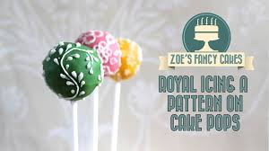 Royal icing cake pops how to make cake pops with a royal icing