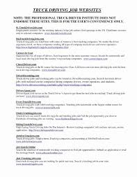 100 Class A Truck Driver Jobs Hc Resume Simple Templates