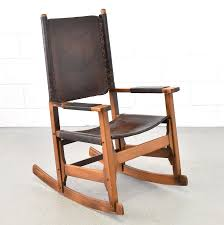Patinated Leather Rocking Chair Produced By Arte Sano, 1960s | #83112 Vintage Leather Rocking Chair Jack Rocker In Various Colors Burke Decor Uhuru Fniture Colctibles Folding 125 Chairs Armchairs Stools Archivos Moycor West Coast Fruitwood Folding Chair With Leather Seat Lutge Gallery By Ingmar Relling For Westnofa 1960s And Wood Boat Angel Pazmino Lounge Muebles De Estilo Spanish Ralph Co Midcentury Modern Costa Rican Campaign Antique Upholstered Flippsmart