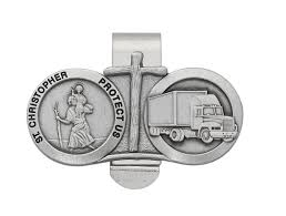 C&A Inspirations > Gifts > St Christopher Visor Clip Just Dropped A Load Funny Gifts For Truck Drivers White 11oz Best Driver In The Galaxy Practical Truckers Trucker Coffee Mug And Gift Father Day Ideas Awesome S For Christmas Accsories Semi Men Long Road Trip Adults Tax Deduction Worksheet Lovely 114 Scale Cargo Action Figures Blue With Trucdriver_wd_gra_look_business_card Raneys Pinterest Tow Girl Friend Tshirtpl Polozatee