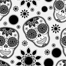 Sugar Skull Pumpkin Pattern by 9 482 Day Of The Dead Cliparts Stock Vector And Royalty Free Day