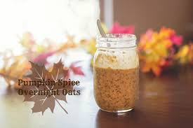 Pumpkin Spice Frappe Nutrition by Pumpkin Spice Overnight Oats Vegan Recipe Youtube