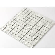 glass tile with porcelain base bathroom wall tiles white