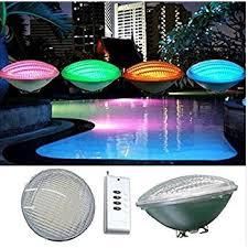 laous led pool lights bulb rgb muliti color led swimming pool