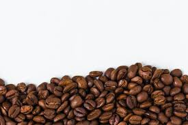Background With Coffee Beans Free Photo