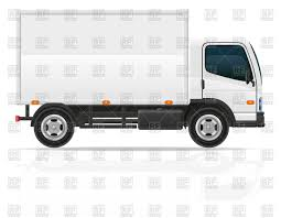100 Delivery Truck Clipart Small Delivery Truck With Cargo Container Vector Illustration Of