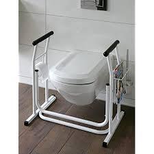 wc aufstehhilfe mobiles toiletten stützgestell haltegriff für badezimmer stützgriff halteschiene m