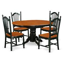 East West Furniture KEDO5-BCH-W 5 PC Table And Chair Set With One Kenley  Dining Table And Four Kitchen Chairs In A Black & Cherry Finish, Wood Seat,  ... 78 Sutton Vintage White Cherry Ding Table Set Cherrywood Solid Ding Table And 8 Chairs Room Chairs By Bob Timberlake For Lexington Addison Black Round Collection From Coaster Fniture 36 X 48 Solid Wood Opens To 60 Finish Benze Satinovo Glasslight Wood In Stow On The Wold Gloucestershire Gumtree 5pieces Cherry Wood Finish Faux Leather Counter Height Set 6 Amish Heirloom Dingroom Tables Sets 2 Armchairs Side 1 Bench Custom Made Homesullivan Holmes 5piece Rich Christy Shown Grey Elm Brown Maple With A Twotone Michaels Onyx Includes 18 Leaf 49 And