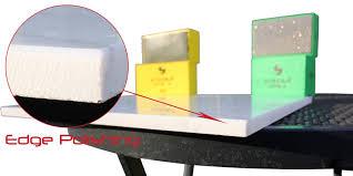 Diamond Bullnose Tile Blade by How To Use Diamond Hand Polishing Pads For Glass Edges Stones