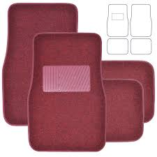 Oxgord Tactical Floor Mats by Flooring Fmpv04a Bk 01 Car Floor Mats For All Weather Rubber 4pc