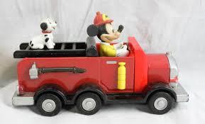 100 Mickey Mouse Fire Truck Disney Train Pluto Donald Duck Thunder