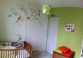 chambre enfant vert chambre bébé nature choupinet