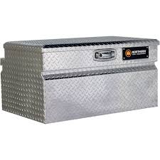 100 Truck Tool Boxes Black Diamond Plate Northern Equipment Locking WideStyle Chest Box