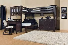 Norddal Bunk Bed by Bedding Mesmerizing Bunk Beds Desk Plans Underneath Twin Over Full