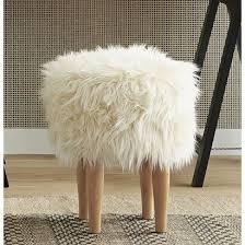 Nate BerkusTM Faux Fur Stool Sold At Target